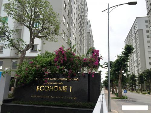 CC bán căn hộ tại Ecohome 1, DT= 56m2, 2 PN+ 1WC tầng 10, giá bán 1.1 tỷ full đồ
