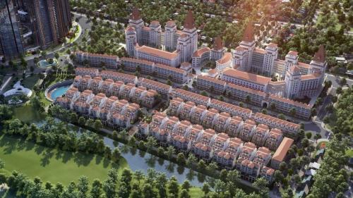 Sắp ra mắt khu biệt thự Châu Âu trên đất vàng Tây Hồ Tây: Sunshine Wonder Villas