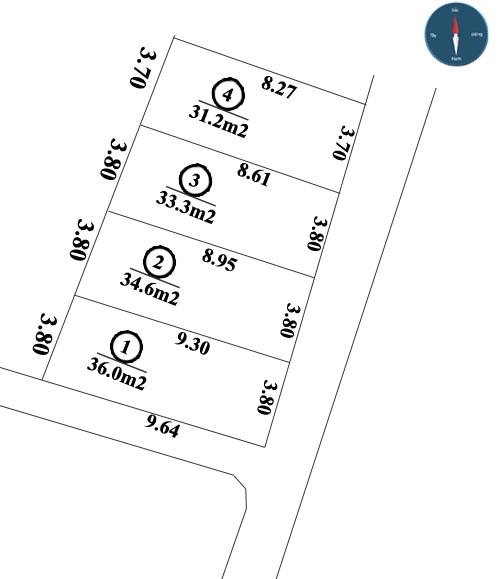 Bán đất phân lô tại ngõ 199 phường Liên Mạc, quận Bắc Từ Liêm giá chỉ từ 650 triệu/lô