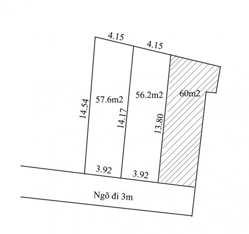 Bán đất ngõ 163 đường Đông Ngạc gần chợ Kẻ Vẻ, gần cầu Thăng Long [ĐÃ BÁN]