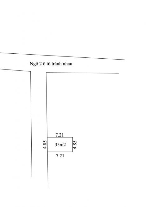 Bán nhà 1 tầng ngõ 182 Tân Phong, Thụy Phương ô tô vào nhà, S = 35m2 giá 1,26 tỷ [ĐÃ BÁN]