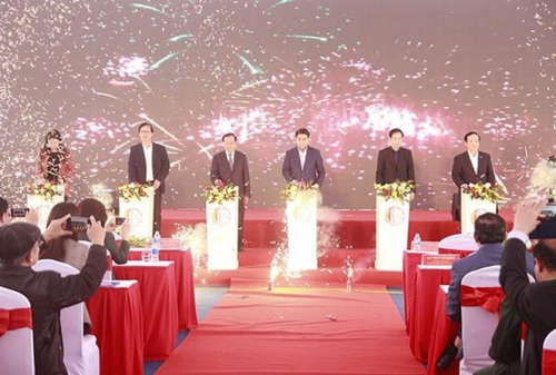 Hà Nội khởi công dự án đường Tây Thăng Long đoạn đi qua quận Bắc Từ Liêm