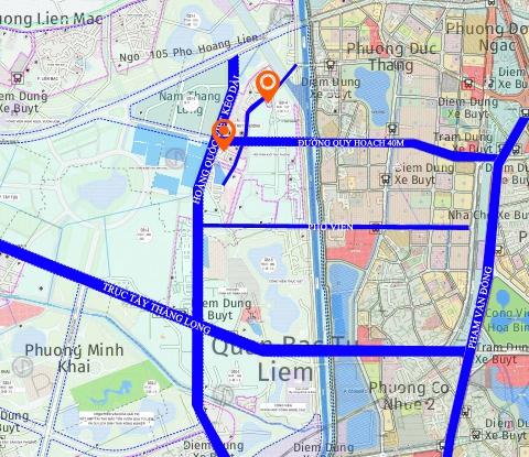 Bất động sản quận Bắc Từ Liêm hưởng lợi từ hạ tầng giao thông mới